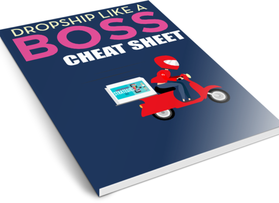 Dropship Like A Boss Cheat Sheet